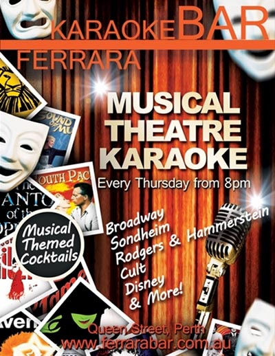 Ferrara Bar Musical Theatre Night